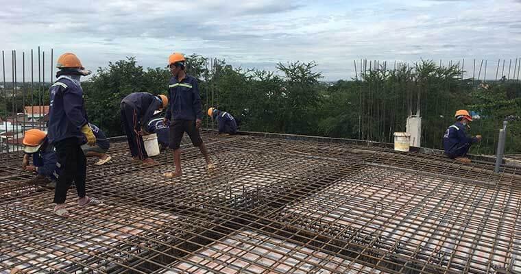 Cập nhật tiến độ công trình biệt thự Đồng Nai