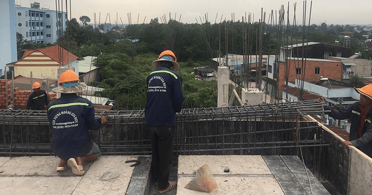 Hình ảnh xây dựng công trình biệt thự Đồng Nai